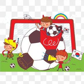 Football - Football Player Child Illustration PNG