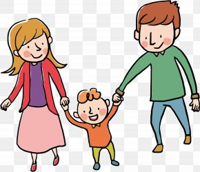 Family Of People - Illustration Cartoon Vector Graphics Image Drawing PNG
