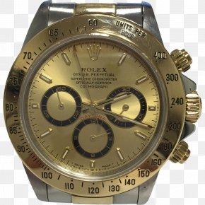 Rolex - Rolex Daytona Watch Chronograph Gold PNG