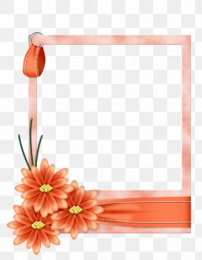 Flower - Borders And Frames Picture Frames Flower Paper Clip Art PNG