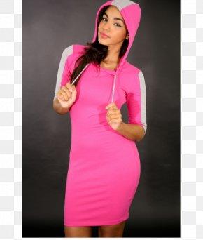 Ms. Dress - Dress Hoodie Clothing Sleeve Sweater PNG