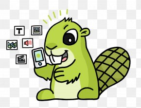 Beaver Cartoon - Clip Art Image Download PNG