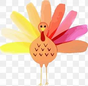 Turkey Finger - Bird Pink Chicken Hand Finger PNG
