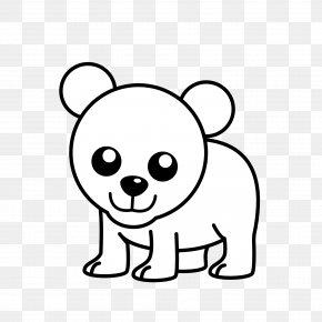 Cub Cliparts - Polar Bear American Black Bear Koala Clip Art PNG