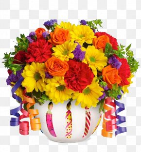 Bouquet Flowers - Flower Delivery Gift Basket Floristry PNG