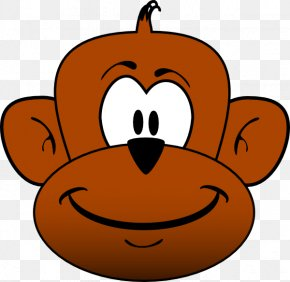 Monkey - Ape Chimpanzee Primate Monkey Clip Art PNG