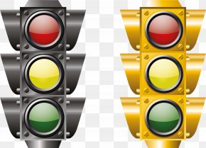 Sophisticated Traffic Lights - Traffic Light Euclidean Vector Vecteur Icon PNG