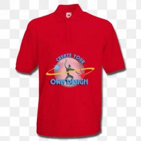Printed T Shirt Red - T-shirt Polo Shirt Cotton Leggings PNG