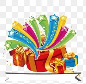 Gift Celebrate - Christmas Gift Food Illustration PNG