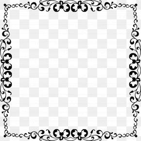 Elegant Frame - Folk Art Clip Art PNG
