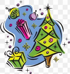 Christmas Tree - Christmas Tree Ded Moroz Christmas Ornament New Year Clip Art PNG