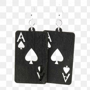 Jack Queen King Spade Playing Cards - Earring Playing Card Ace Of Spades Jewellery PNG