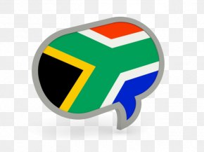 South Africa-flag - Flag Of South Africa Speech Balloon PNG