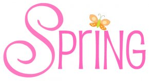 Spring Cliparts - Spring Microsoft Word Clip Art PNG