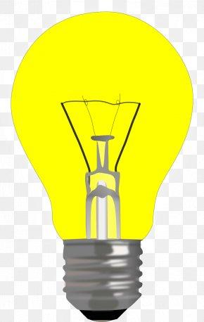Light Bulb - Incandescent Light Bulb Lighting Electric Light Lamp PNG
