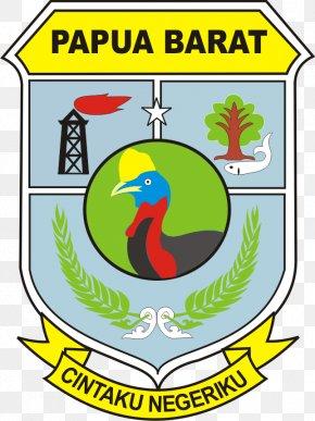 Pakaian Adat - Manokwari Lambang Papua Barat Provinces Of Indonesia Information PNG