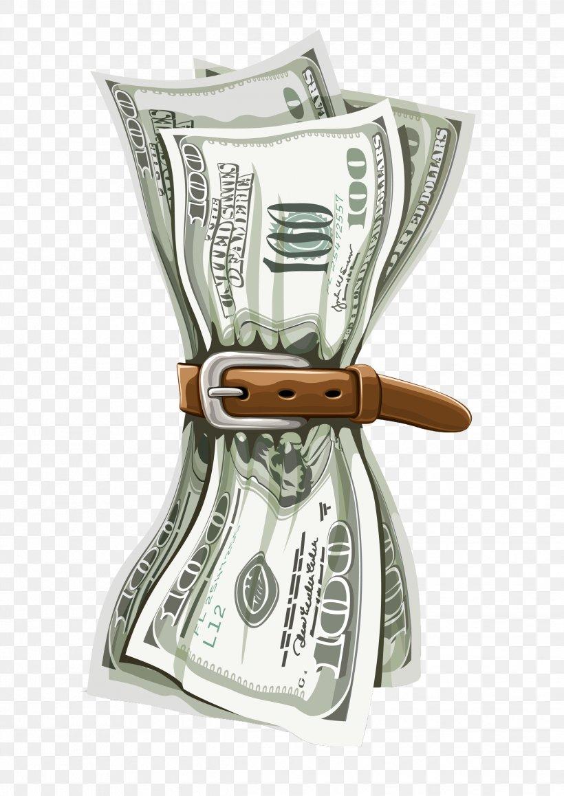 Money Microsoft Powerpoint Template United States Dollar
