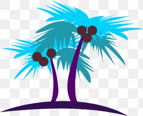Coconut Tree Vector Material - Coconut Tree PNG