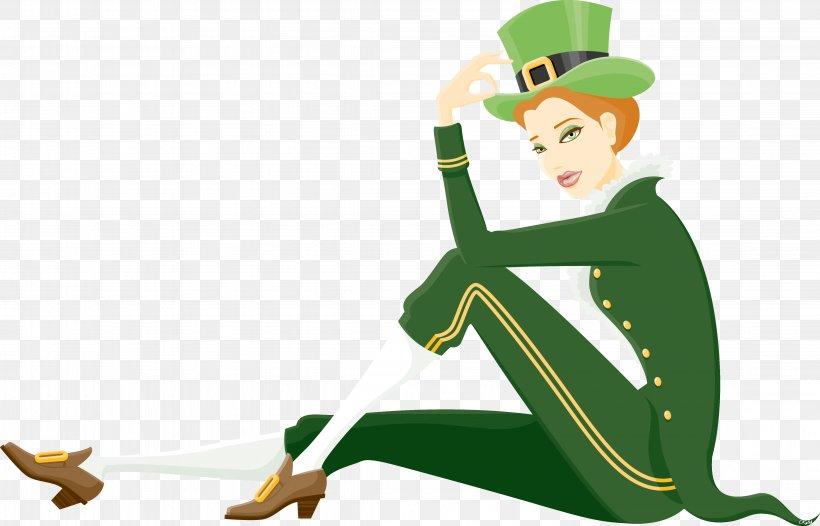 Saint Patrick's Day Irish People Greeting Morning Clip Art, PNG, 4487x2881px, Saint Patrick S Day, Art, Blessing, Cartoon, Easter Download Free