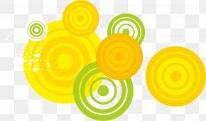 Yellow Circle - Yellow Disk PNG