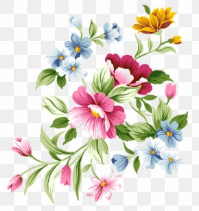 Birds And Flowers - Flower Desktop Wallpaper Clip Art PNG