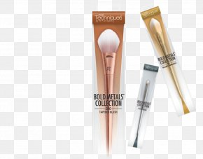 Design - Makeup Brush Real Techniques Bold Metals Triangle Foundation Brush 101 Personal Care Cosmetics PNG