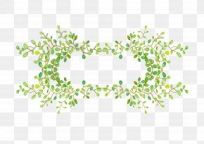 Vector Plant Borders - Plant Leaf Euclidean Vector PNG