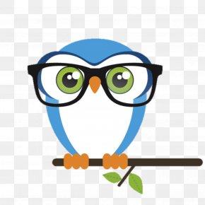 Owl - Great Horned Owl Bird Clip Art Glasses PNG
