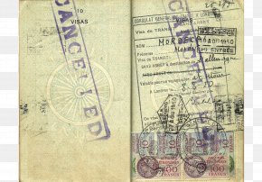 Passport - Indian Passport Travel Visa Allied-occupied Germany PNG