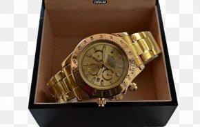 Watch - Rolex Daytona Watch Strap Clock PNG