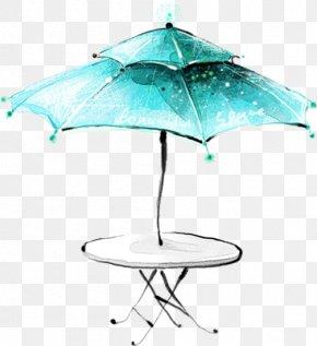 Umbrella - Cafe Drawing Illustration PNG