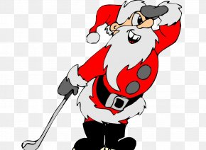 Overlooking The Santa Claus - Santa Claus Golf Course Christmas Clip Art PNG