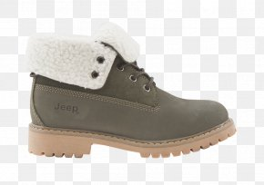 Boot - Snow Boot Shoe Suede Footwear PNG