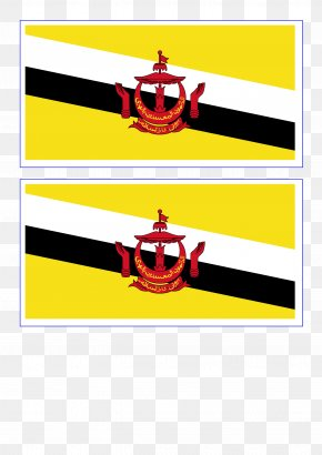 Flag - Flag Of Brunei National Flag Flags Of The World Gallery Of Sovereign State Flags PNG