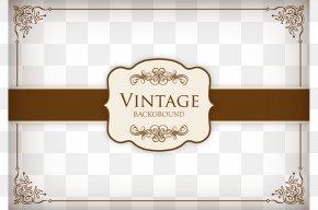 Vector Envelope Cover Illustration - Brand Rectangle Label Pattern PNG