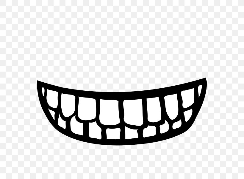 Smile Human Tooth Mouth Clip Art, PNG, 600x600px, Smile, Auto Part, Automotive Exterior, Black And White, Blog Download Free