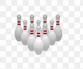 Bowling Cartoon - Bowling Pin Bowling Ball Clip Art PNG