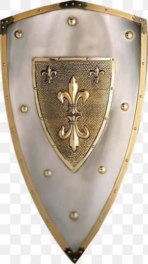 Shield - Middle Ages Heater Shield Sword Weapon PNG