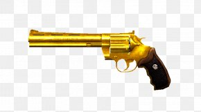 Weapon - Revolver Trigger Gun Pistol Weapon PNG