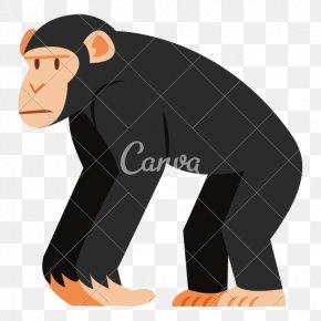 Chimpanzee - Chimpanzee Ape Cartoon Monkey PNG