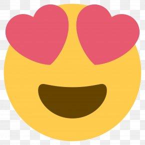Smiley - Emoji Heart Eye Kaomoji Smiley PNG
