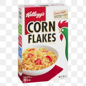 Breakfast - Corn Flakes Breakfast Cereal Frosted Flakes Kellogg's PNG