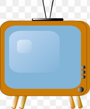 Yellow TV - Television Show Clip Art PNG