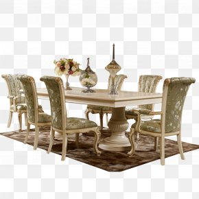 Dining Room - Table Furniture Dining Room Matbord Chair PNG