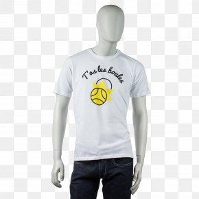 T-shirt - T-shirt La Boule Obut Pétanque Clothing Sleeve PNG