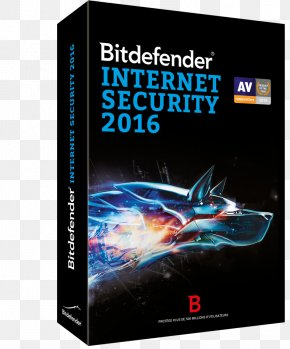 Computer - Bitdefender Internet Security Antivirus Software Computer Software PNG
