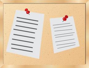 Bulletin Cliparts - Bulletin Board Free Content Clip Art PNG
