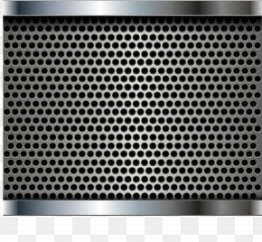 Black Hole Technology Background - Perforated Metal Manufacturing Mesh Stainless Steel PNG