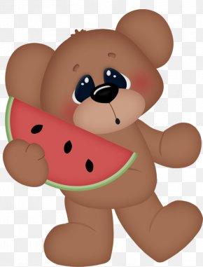 Bear - Teddy Bears' Picnic Clip Art PNG