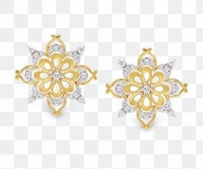 Jewellery - Earring Jewellery Gold Silver Cufflink PNG